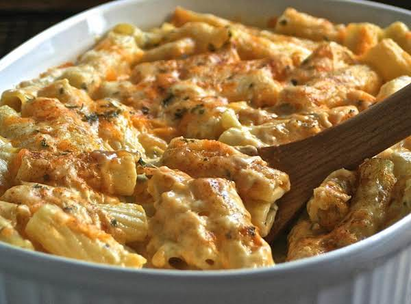 Sam And Dave's Rich And Creamy Rigatoni 'n Cheese Recipe
