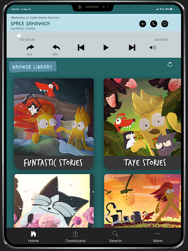 Calm Down Stories - Funtastic audio stories 4 kids screenshot 4