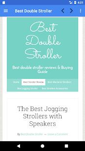 Best Double Stroller - náhled