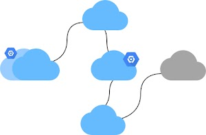 Create a hybrid and multi-cloud environment logo