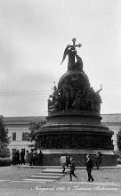 Photo: Памятник Тысячелетию  России. 1968 год.