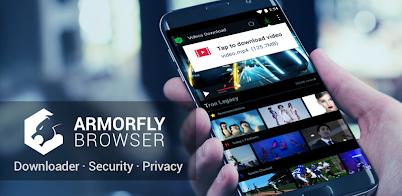 Armorfly Browser & Downloader - Private , Safe v1 1 07 0029