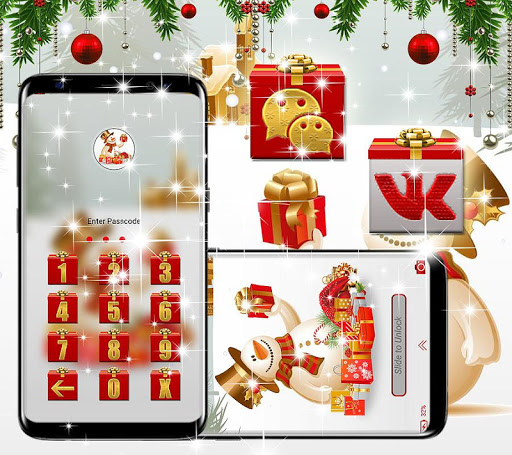 Foto do Christmas Gift Launcher Theme