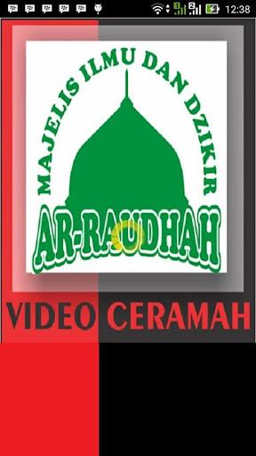 Video Kajian Ar Raudhah