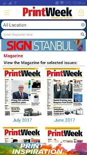 Printweek Middle East & Africa- screenshot thumbnail