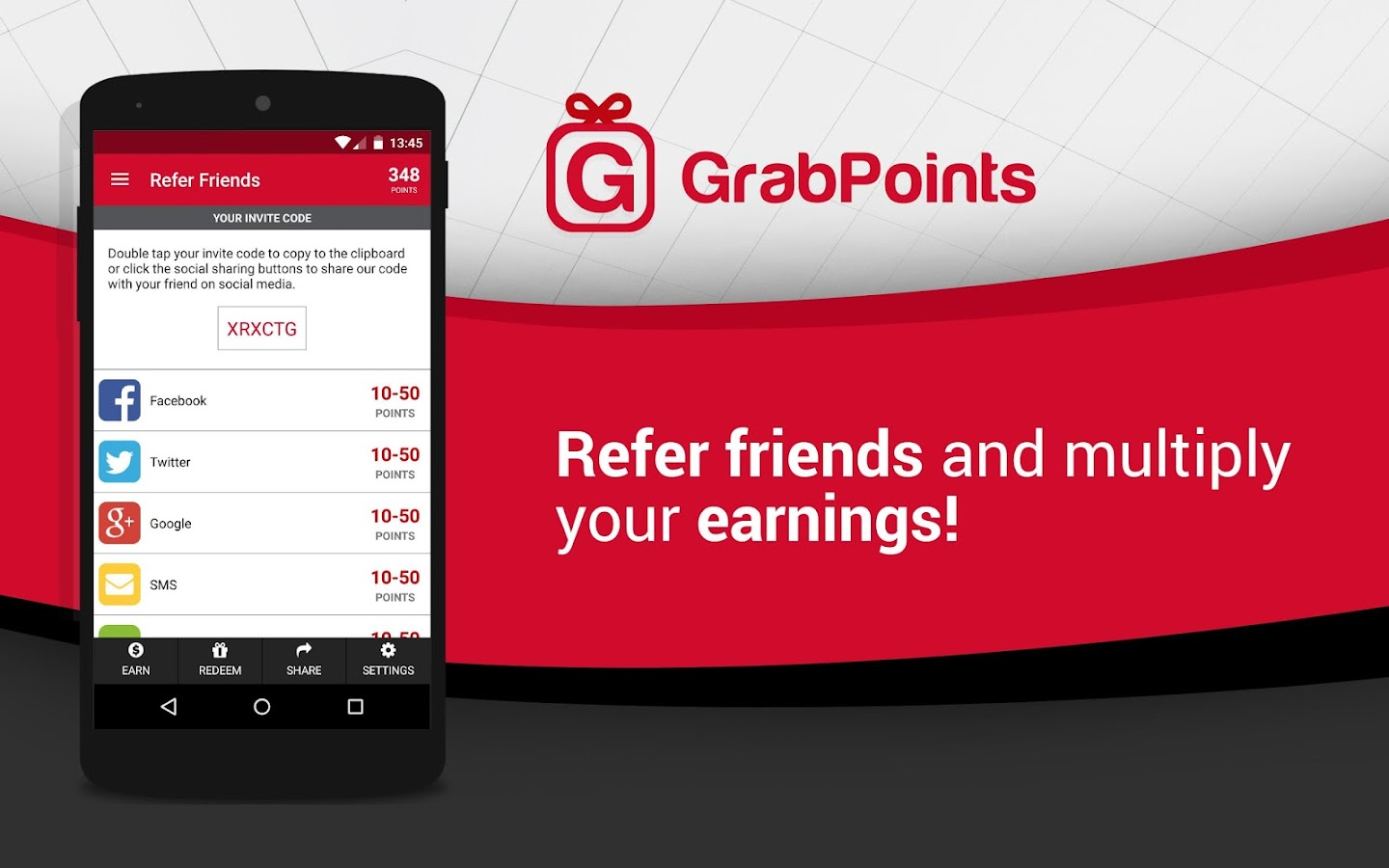 GrabPoints - Free Gift Cards - screenshot