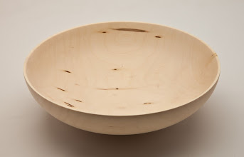 "Photo: TIM ALEY – 8"" x 2.5"" Bowl - [Box Elder]"