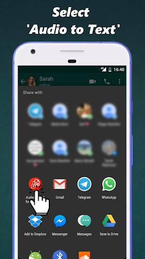 Audio to Text for WhatsApp 3.3 screenshots 3