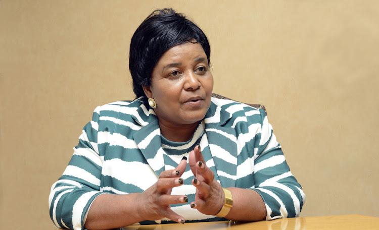 Water and Environmental Affairs Minister Edna Molewa. Picture: ARNOLD PRONTO