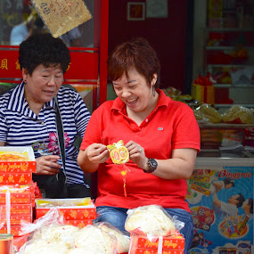 The Jolly Entrepreneur by Yuri Saito - City,  Street & Park  Markets & Shops ( pwcmarkets )
