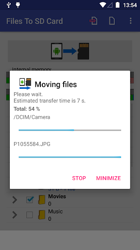 Files To SD Card 1.56 screenshots 3