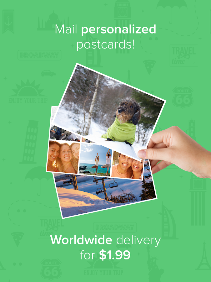 Postly - send postcards- screenshot