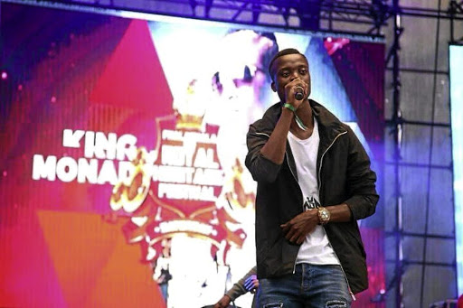 King Monada waited long to perform in Tembisa.