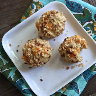 Apricot + Coconut + Nutmeg + Flax Seed Mini Muffins.