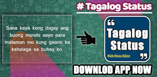 Tagalog, Hugot, Pinoy & Bisaya Quotes Editor 2018 - Apps on