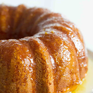 Orange Glazed Bundt Cake Recipe