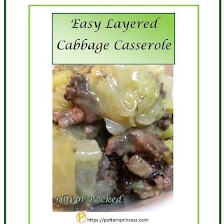 Easy Layered Cabbage Casserole Recipe