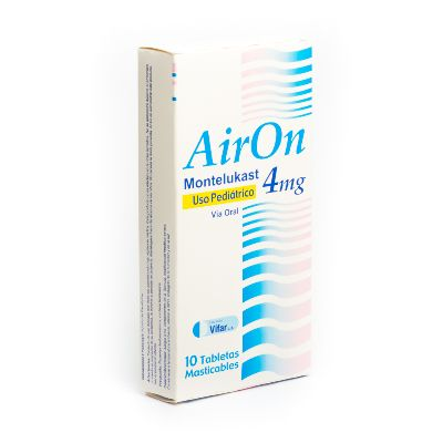Montelukast Airon 4 mg x 10 Tabletas