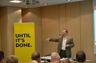 Photo: Key note speech delivered by Tom Kyte