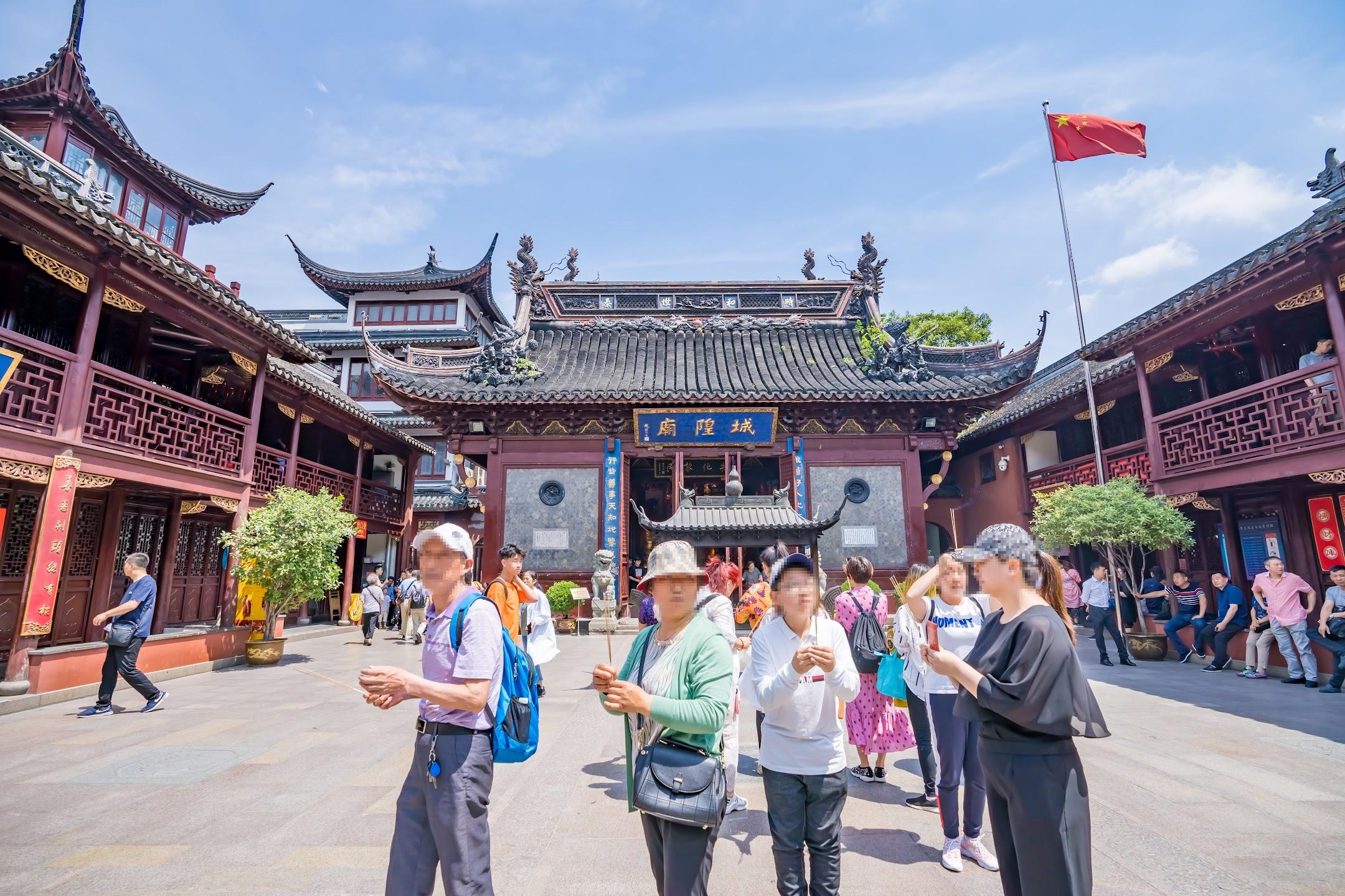 Shanghai Yuyuan City God Temple1