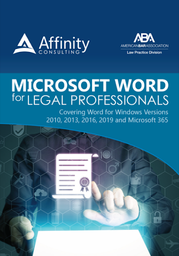 Microsoft Word for Legal Professionals