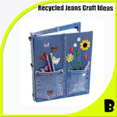 Jeans Recycled Craft Idea
