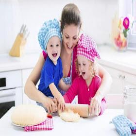 cocina junto a tus pequeños
