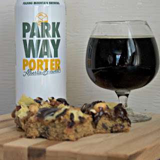 Pub Snacks Beer Cookie Squares.