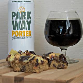 Pub Snacks Beer Cookie Squares.