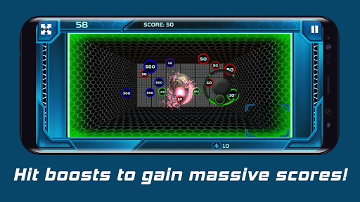 Hyper-Smash: The reverse breakout game android2mod screenshots 3