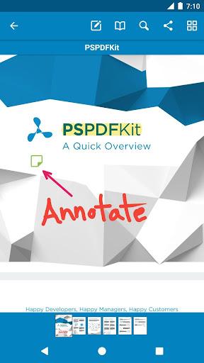 PDF Viewer - 閱讀 編輯