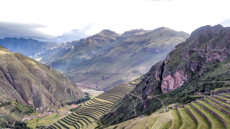 Pisac+sacred+valley+incas+urubamba+cusco+peru
