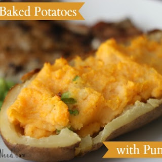 Twice Baked Potatoes with Pumpkin (For Real!!!)