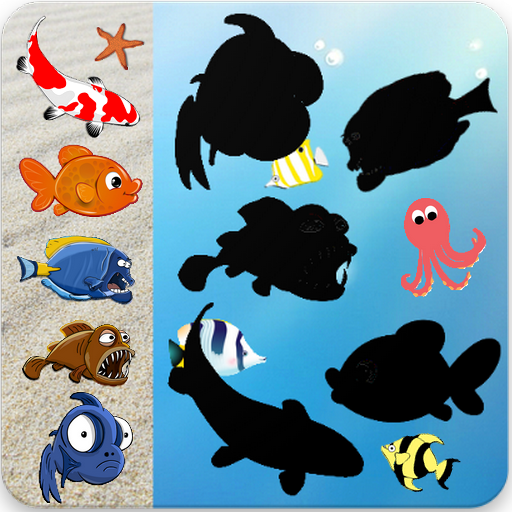 Fish & Sea Animals Puzzles