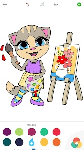 Emma the Cat Coloring Pages- screenshot thumbnail