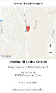 Bacino Ceresio - náhled