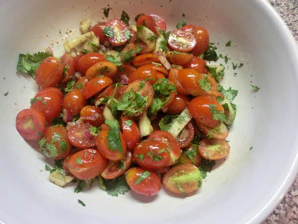 Grape Tomato Salad Recipe