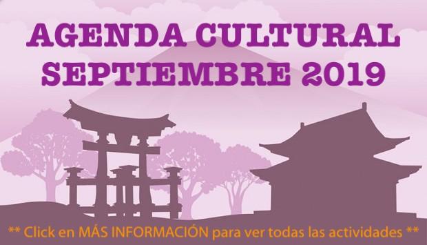 Agenda Cultural - Septiembre 2019