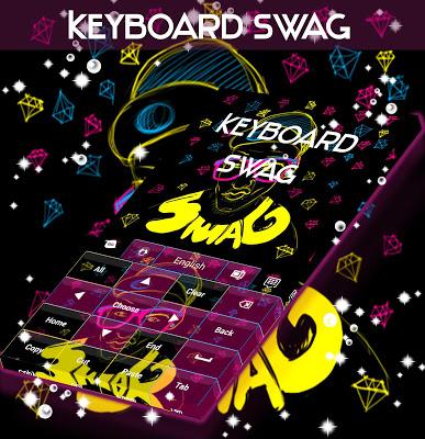 Swag Keyboard - screenshot