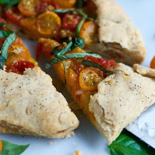 Gluten-Free Roasted Tomato Basil Galette