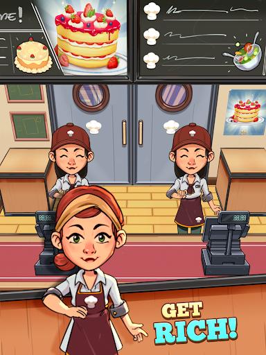 Idle Cook Tycoon: un simulador de gerente de cocina capturas de pantalla 10