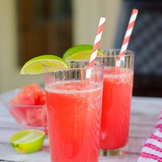 Refreshing Watermelon Lemonade Slushies