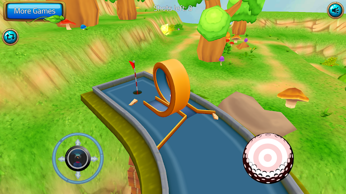 Mini Golf Putter - screenshot
