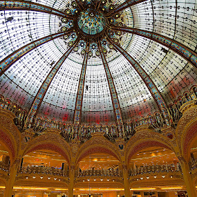 Galeries Lafayette by Kwoh LK - Buildings & Architecture Other Interior ( paris, department store, galeries lafayette, france )