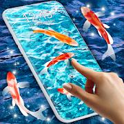 Koi Live Pond 3D \ud83d\udc1f Fish HD Live Wallpaper Free