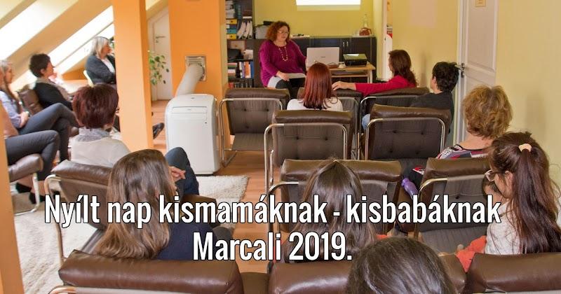 Nyílt nap kismamáknak - kisbabáknak Marcaliban 2019