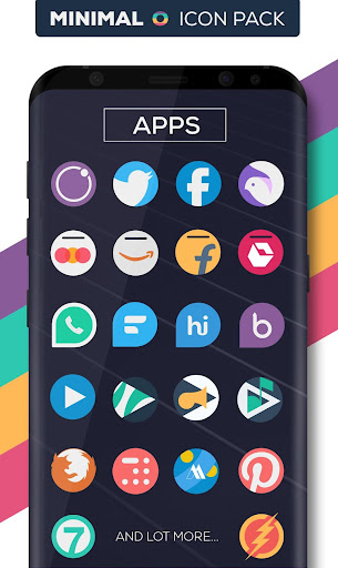 Screenshot for Minimal O - Icon Pack in United States Play Store