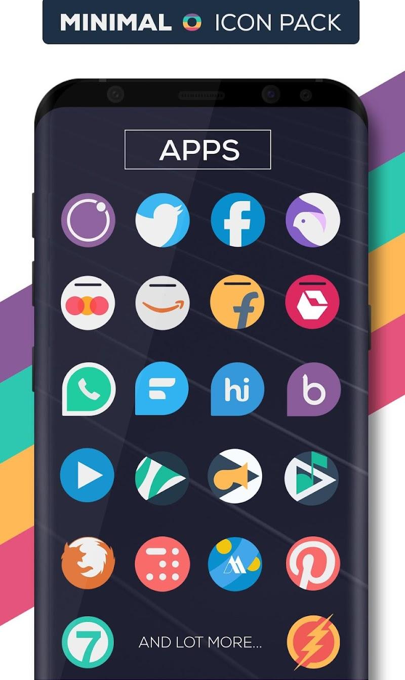Minimal O - Icon Pack Screenshot 3