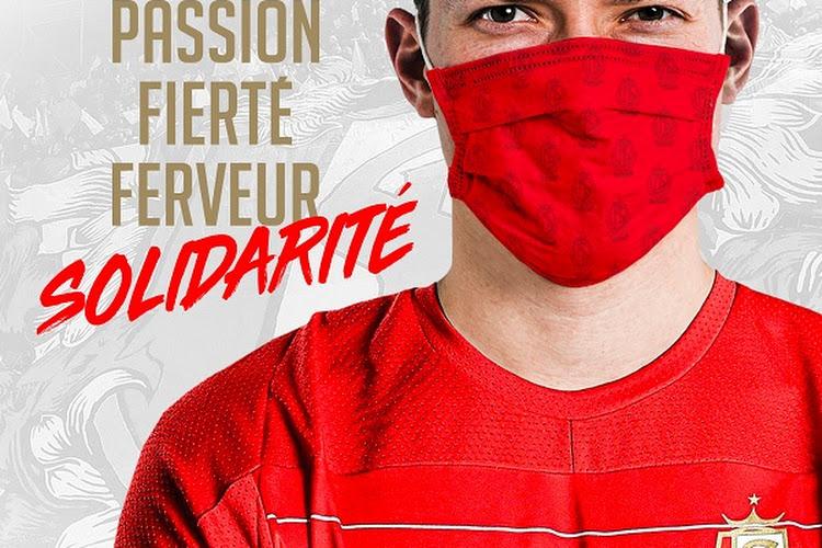 Le Standard de Liège va lui aussi commercialiser des masques à son effigie