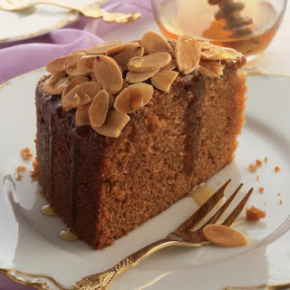 Honey and Almond Cake.